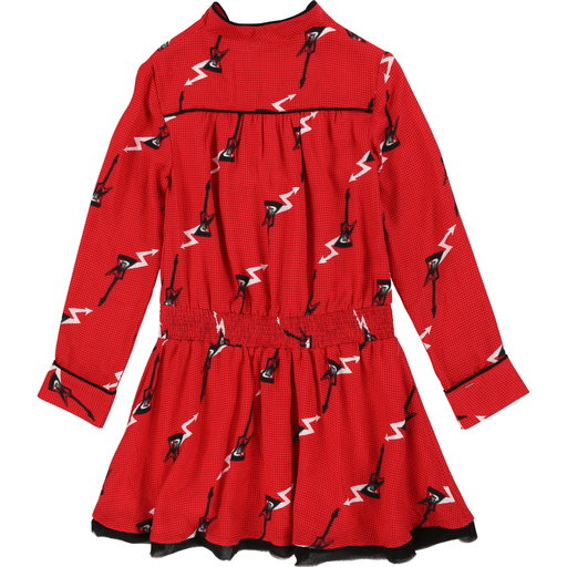 Zadig & Voltaire Robes 16Y / Rouge Robe guitare Guitar dress