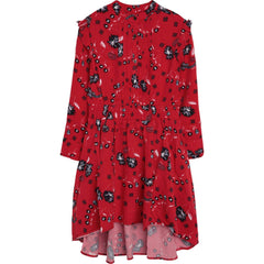 Zadig & Voltaire Robes Robe à motif rouge Red printed dress