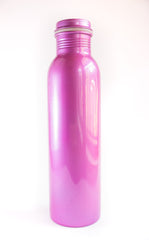 brass water bottle india purple