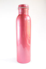 brass water bottle red india