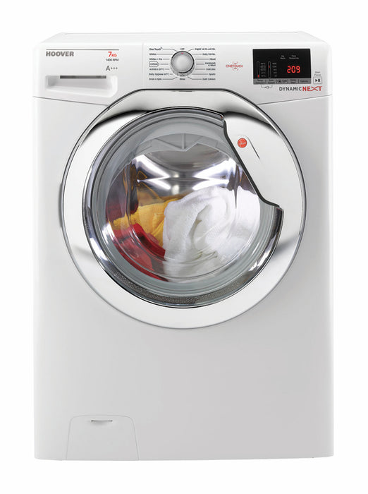 Hoover DXOC47C3 7kg 1400 Spin A+++ Washing Machine in White