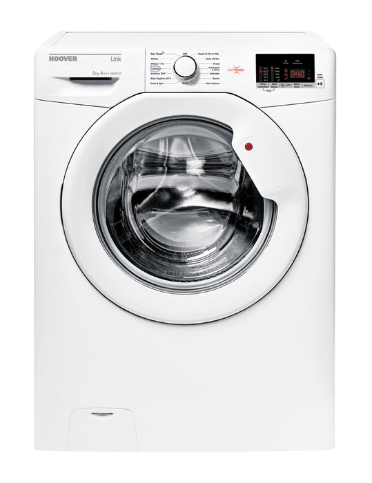 Hoover HL1482D3 8kg 1400 Spin A+++ Washing Machine in White