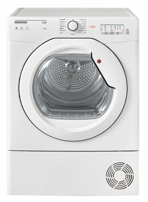 Hoover BHLC8LG 8kg Sensor Condenser Tumble Dryer in White