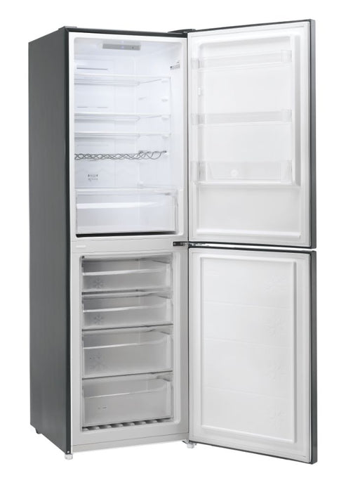 Hoover AXI HMNB6182DX5K 186cm A+ Total No Frost Fridge Freezer in Graphite