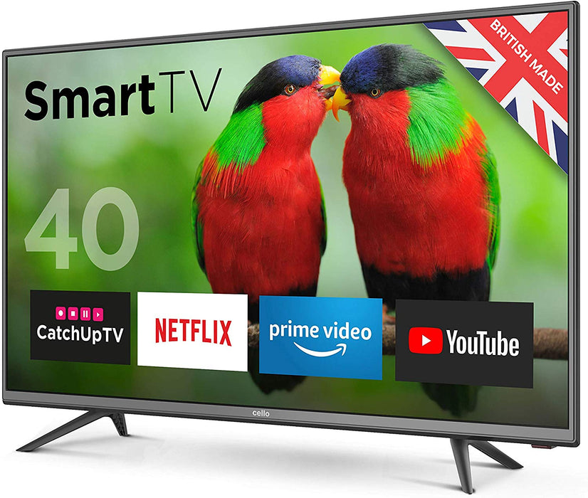 "Cello 40"" C40BRT Smart Full HD LED Television - Made in the UK"