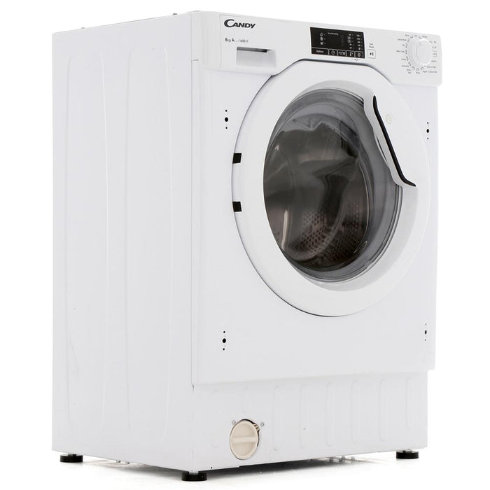 Candy CBWM816D-80 Integrated 8kg 1600 Spin A+++ Washing Machine in White
