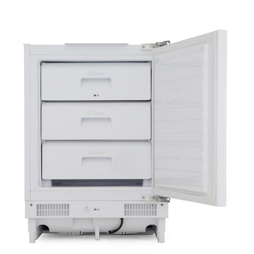 Candy CFU130EK Integrated A+ Undercounter Freezer