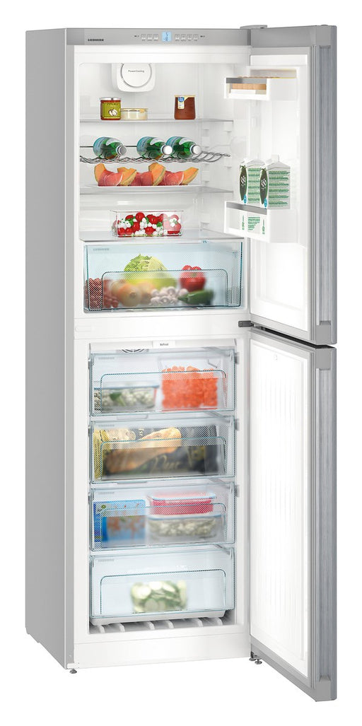 Liebherr CNEL4213 186cm A++ NoFrost Fridge Freezer in Silver