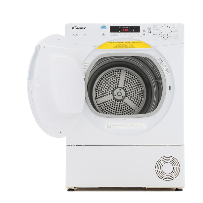 Candy CSC9DF 9kg Sensor Drying Condenser Tumble Dryer in White