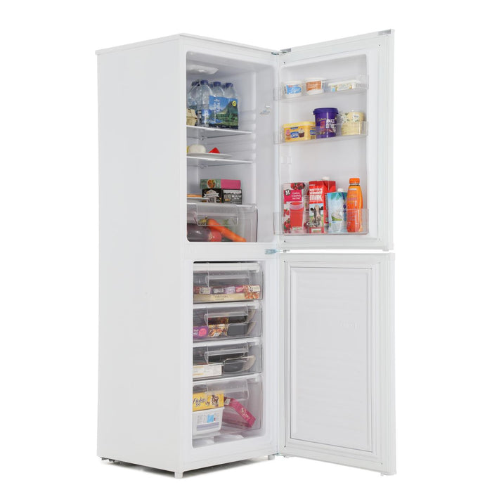 Candy CSS5166WE A+ 166cm Static Fridge Freezer in White