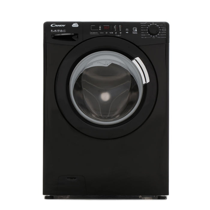 Candy CVS1492D3B 9kg 1400 Spin A+++ Washing Machine in Black