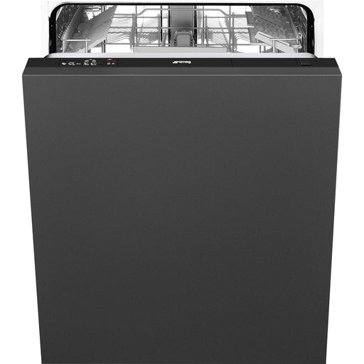 Smeg DIC613 Fully Integrated A+ Dishwasher - Black Control Panel