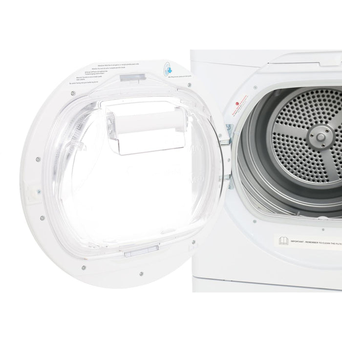 Hoover DXC8DE 8kg Condenser Tumble Dryer in White