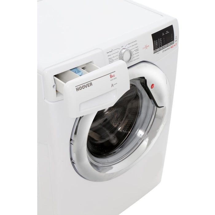 Hoover DXOC48C3 8kg 1400 Spin A+++ Washing Machine in White
