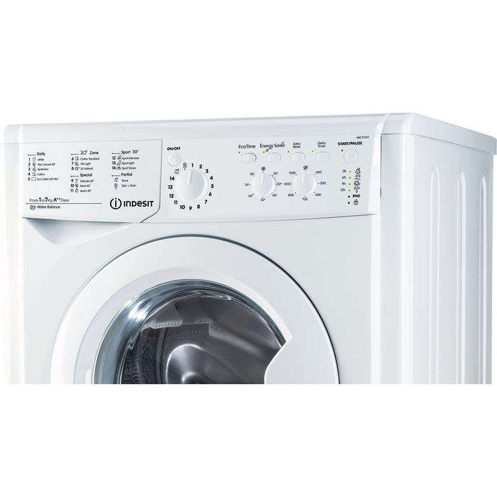 Indesit EcoTime IWC71252ECO 7kg 1200rpm A++ Washing Machine in White