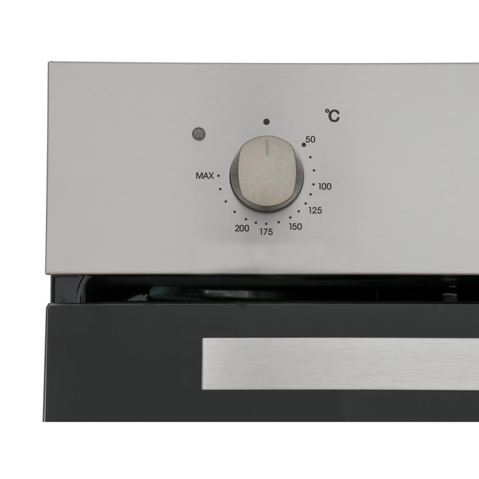 Candy FCP403X Integrated Single Fan Oven in Stainless Steel