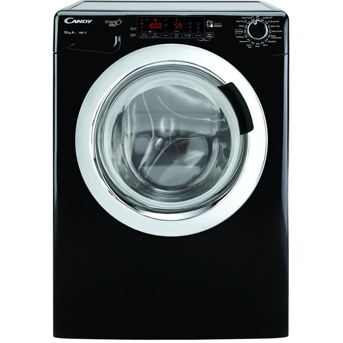 Candy GVS1610THCB 10kg 1600 Spin A+++ Washing Machine in Black