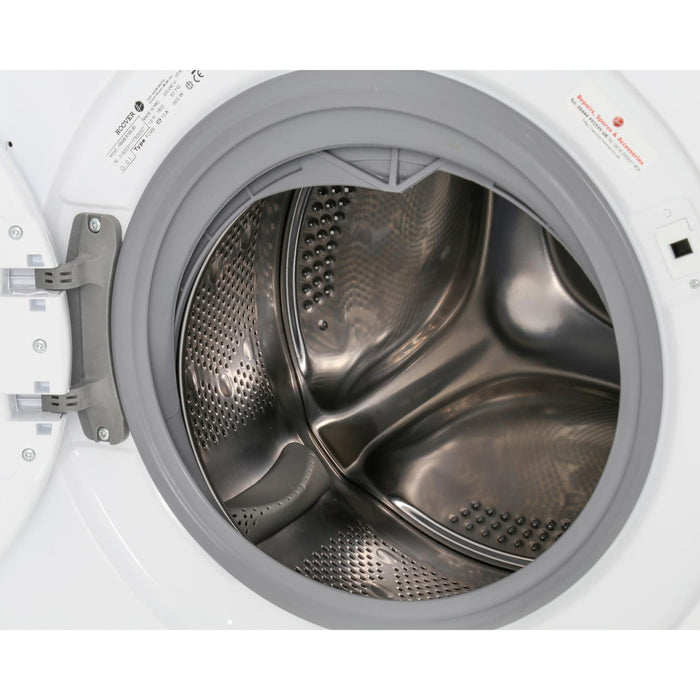 Hoover HBWM816S-80 Integrated 8kg 1600 Spin A+++ Washing Machine in White