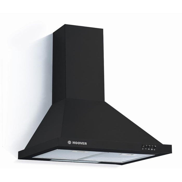 Hoover HCE116NN 60cm Chimney Cooker Hood in Black