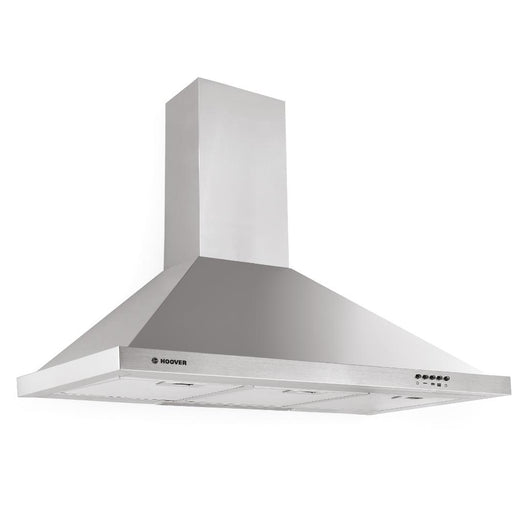 Hoover HCE119NX 90cm Chimney Cooker Hood in Stainless Steel