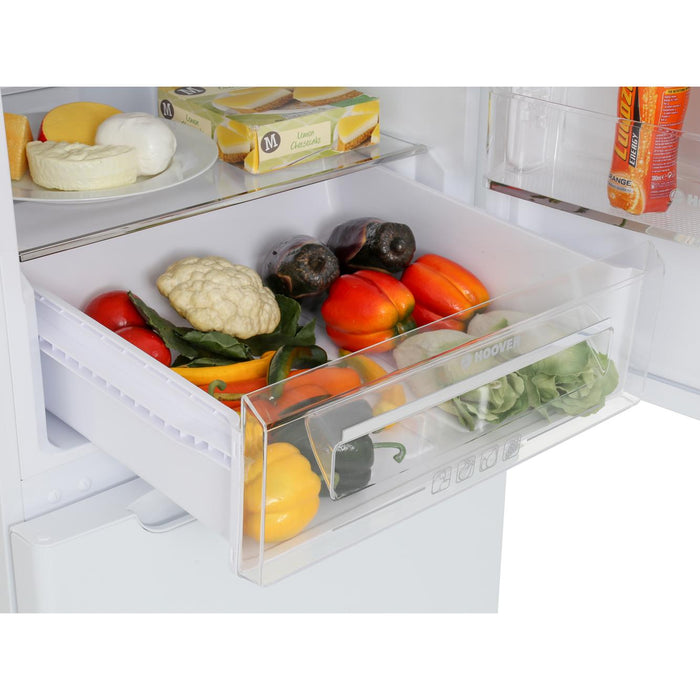 Hoover HCN6182WK 185cm A+ Total No Frost Fridge Freezer in White