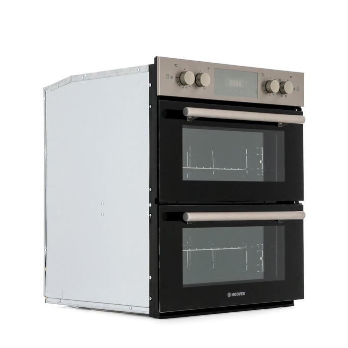 Hoover HDO8442X Built-under Double Multifunction Oven in Stainless Steel