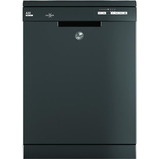 Hoover AXI HDYN1L390OA Fullsize 13 Place Settings A+ Dishwasher in Graphite