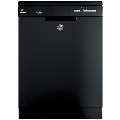 Hoover AXI HDYN1L390OB Fullsize 13 Place Settings A+ Dishwasher in Black