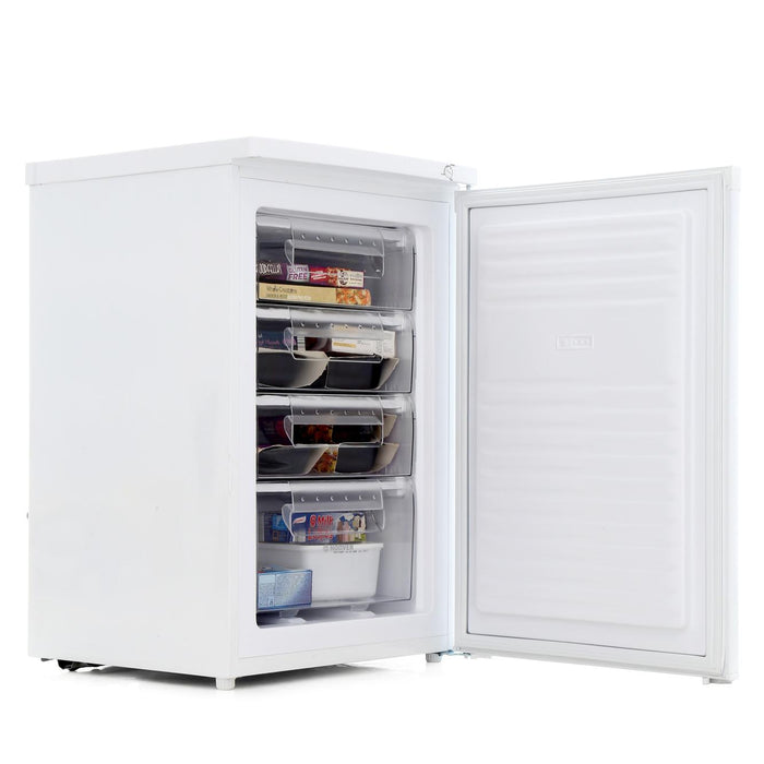 Hoover HFZE54W 55cm A+ Underconter Freezer in White