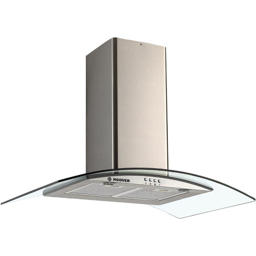 Hoover HGM910NX 90cm Glass Chimney Cooker Hood in Stainless Steel