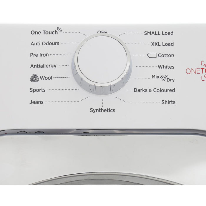 Hoover HLC9DCE 9kg Condenser Tumble Dryer in White