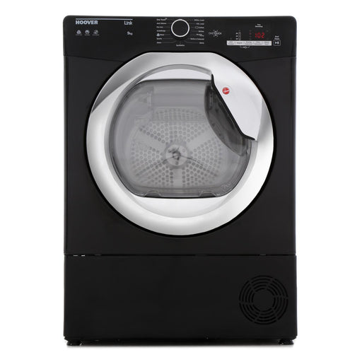 Hoover HLC9DCEB 9kg Condenser Tumble Dryer in Black