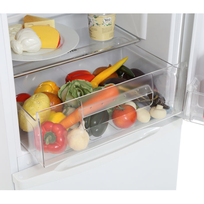 Hoover HSC536W 136cm A+ Static Fridge Freezer in White