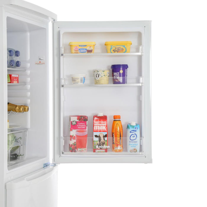Hoover HSC574W 175cm A+ Static Fridge Freezer in White