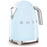 Smeg KLF03PBUK 50's Retro Kettle in Pastel Blue