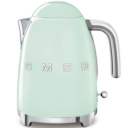 Smeg KLF03PGUK 50's Retro Kettle in Pastel Green