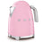 Smeg KLF03PKUK 50's Retro Kettle in Pink