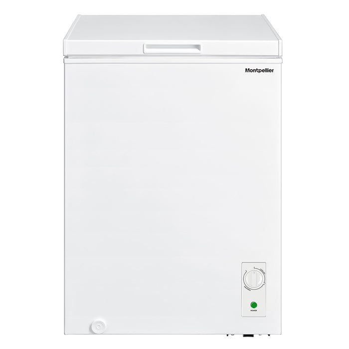 Montpellier MCF99W-E 99 Litres Chest Freezer in White