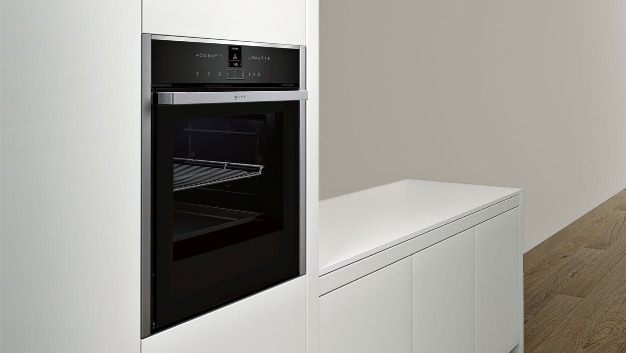 Neff B57VR22N0B Slide&Hide® Built-in Single Oven