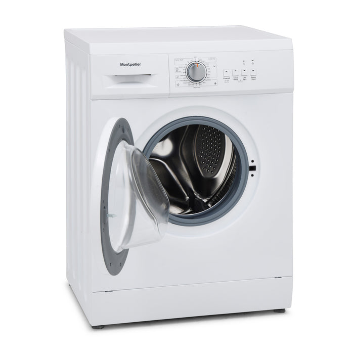 Montpellier MW6121W 6kg 1200rpm A++ Washing Machine in White