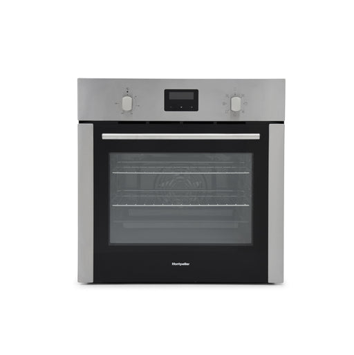 Montpellier PSFO59FX Slim Depth Electric Oven in Stainless Steel