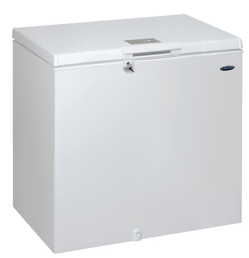 Iceking CF252W 252 Litres Chest Freezer in White