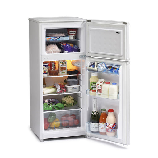 Iceking FF115AP2 116cm A+ Top Mount Fridge Freezer in White