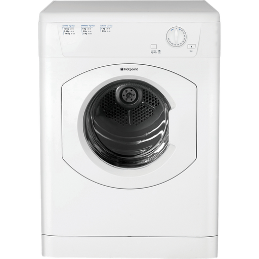 Hotpoint First Edition FETV60CP 6kg Vented Tumble Dryer in White