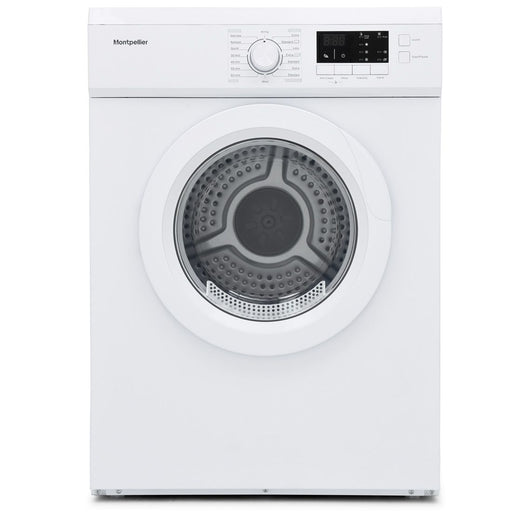 Montpellier MVSD7W 7kg Vented Sensor Tumble Dryer in White