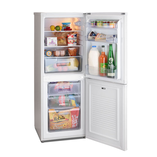 Iceking IK9055AP2 130cm A+ 50/50 Fridge Freezer in White