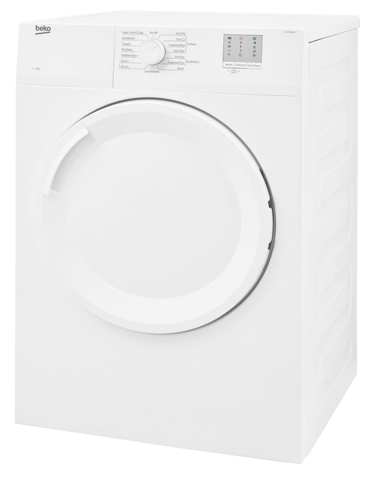 Beko DTGV7000W 7kg Vented Tumble Dryer in White
