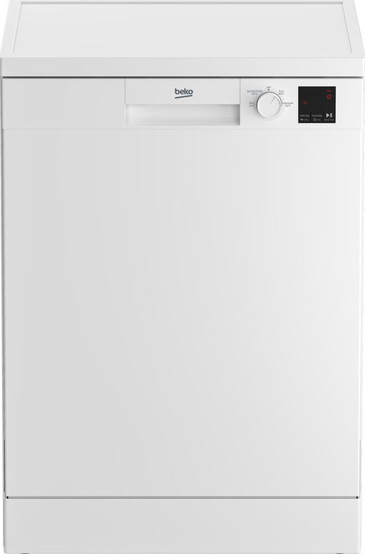 Beko DVN04320W Fullsize 13 Place Settings Dishwasher in White