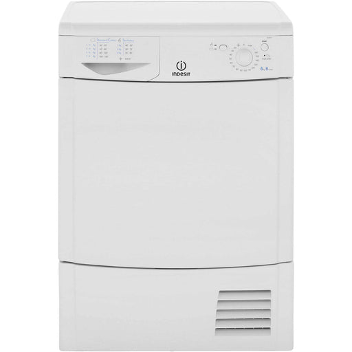 Indesit IDC8T3B 8kg Condenser Tumble Dryer in White