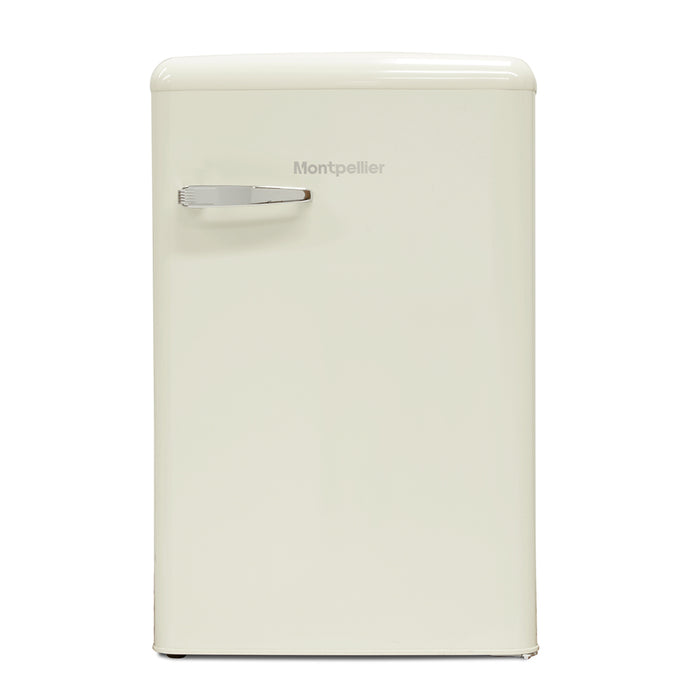 Montpellier MAB551C Retro 55cm A+ Icebox Fridge in Cream